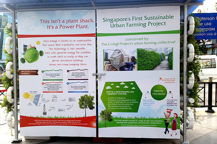 Singapore's first sustainable urban farming project