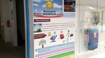 We have solar power in TNPS