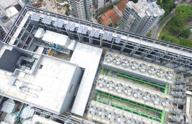 High-Rise Solar building