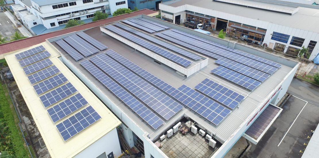 Tuas Link Solar factory