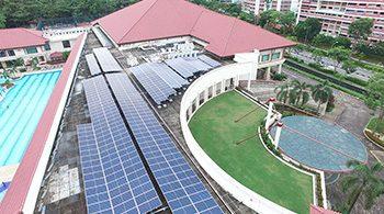 SAFRA Yishun solar