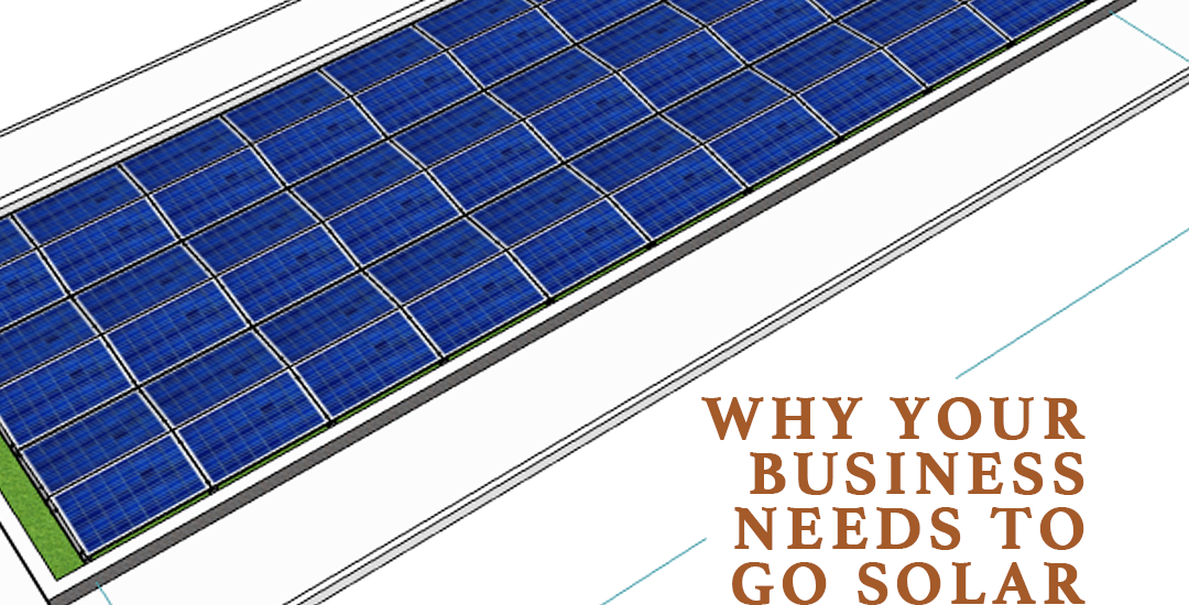 Why Your Business Should Go Solar